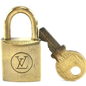 Louis Vuitton Gold Keepall Speedy Lock Key Set#211